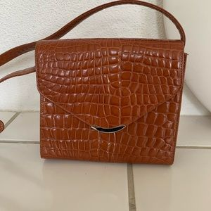 Talbots Chestnut colored purse.